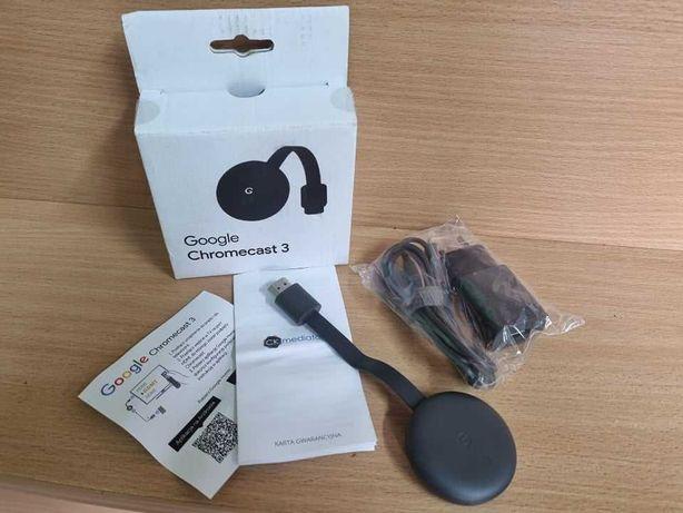 Odtwarzacz Multimedialny Google Chromecast 3