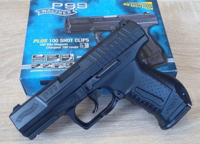 Мощный страйкбольный пистолет Walther P99 Umarex (Германия), страйкбол