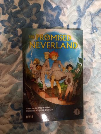 Mangá the promised neverland novo
