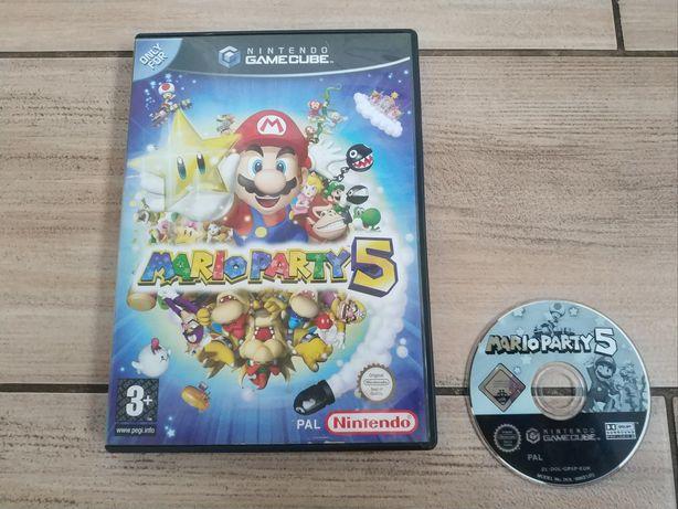 __ Mario Party 5 ANG GameCube __