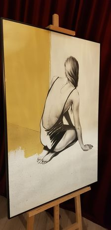 Plakat obraz kobieta