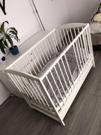 Łóżeczko dziecięce drewniane Klupś 120x60cm