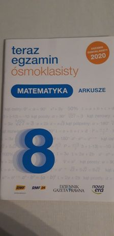 Matematyka arkusze osmioklasisty Nowa Era