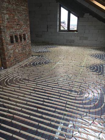 Ogrzewanie podłogowe, instalacje CO, gaz, wod-kan, rekuperacja