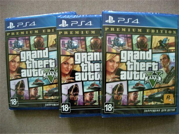 """Grand Theft Auto V Premium Edition"" Русский Диск для РS4. Новый"