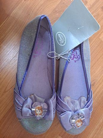 Sapatinhos Princesa Sofia da Disney Store 32/33 - Novos com etiqueta