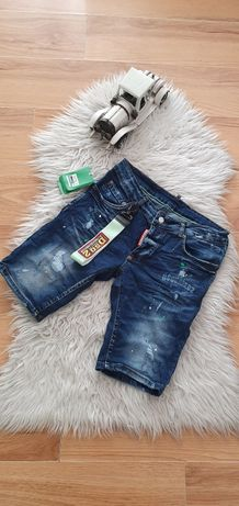 Spodenki męskie jeans Dsquared