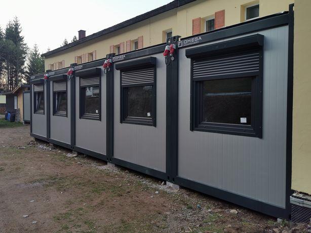 Kontener biurowy / kontener budowlany / stróżówka / pawilon