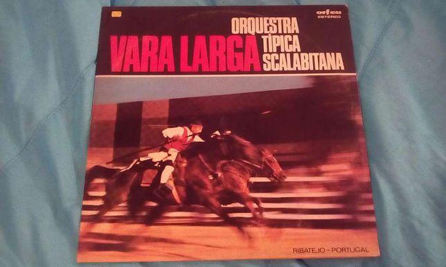 Magnifico Disco de Vinil Vara Larga da Orquestra Típica Scalabirana