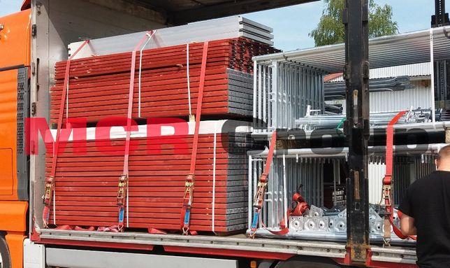 Rusztowanie elewacyjne typ Plettac 97,5m2 (6,5 m wys)