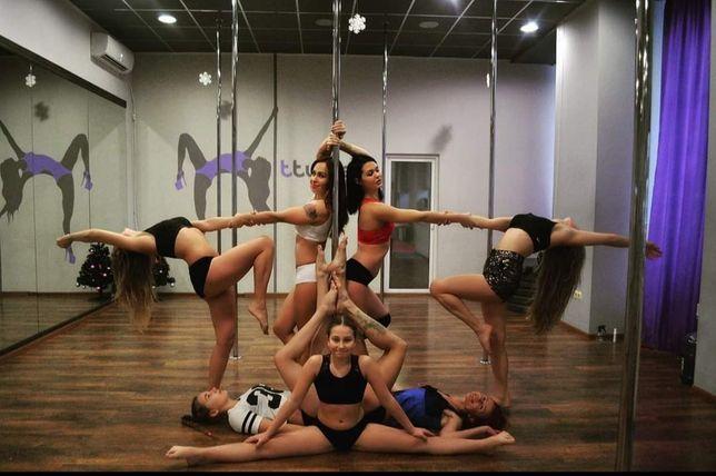 Тренировки Pole Dance, набор в группы