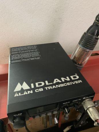 Radio cb com antena PRESIDENTE