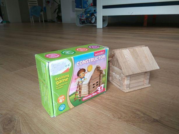 Domek drewniany dla dzieci - chatka góralska