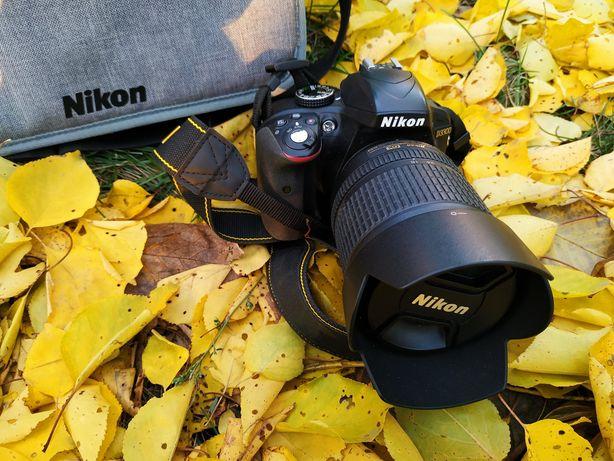 Продам фотоапарат Nikon D3300