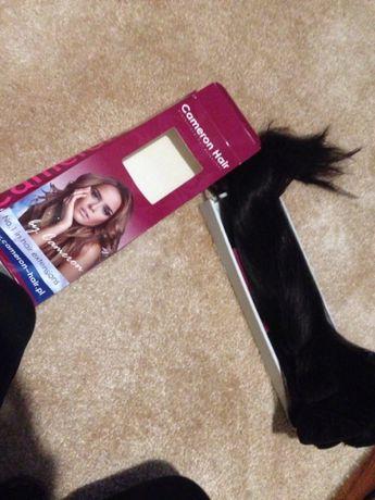 Włosy naturalne clip in 43 cm