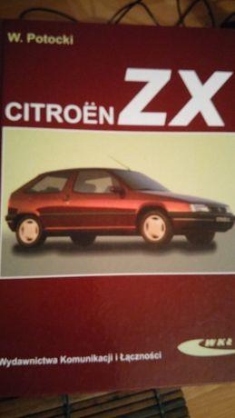 Książka obsługa Citroen ZX