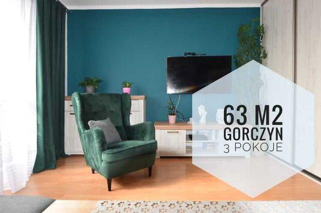 Mieszkanie Na Górczynie, 63m2,  3 Pokoje