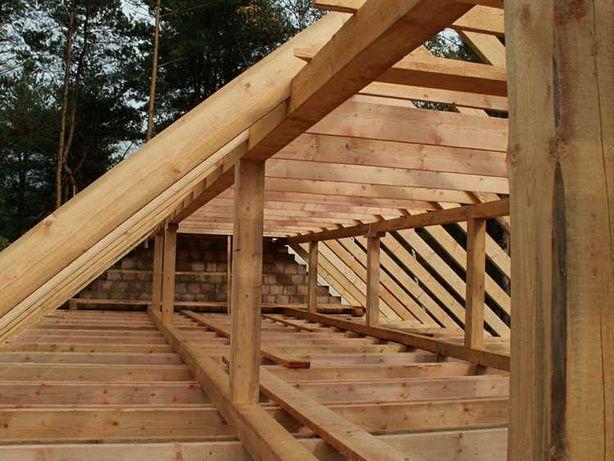 więźba dachowa , drewno konstrukcyjne