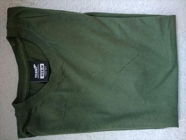 Koszulka khaki pod mundur