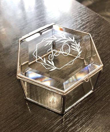Свадебный декор шкатулка коробочка скринька для колец казна для денег