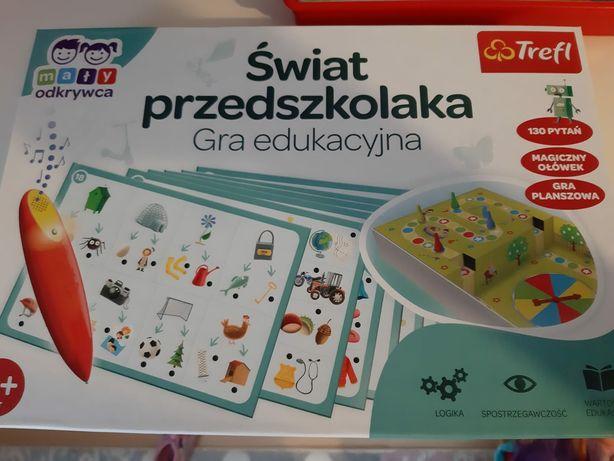Świat przedszkolaka gra edukacyjna
