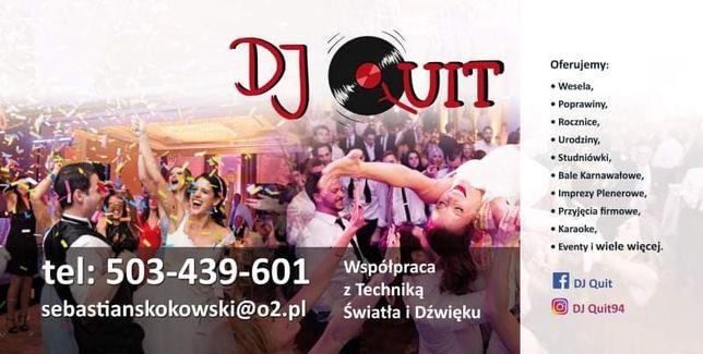 Imprezy okolicznościowe, DJ,