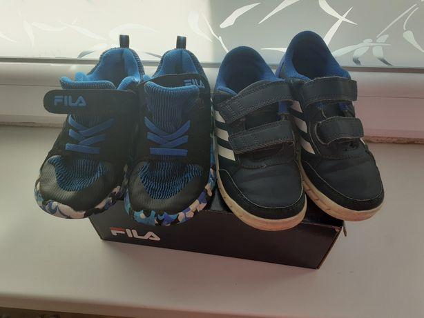 Buty Adidas i Fila