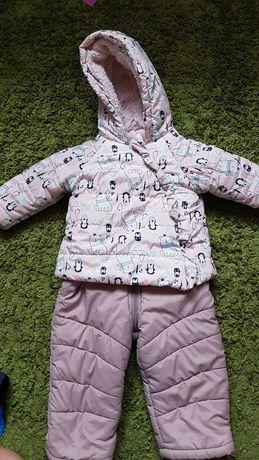 Wójcik spodnie zimowe r80 plus Kurteczka zimowa r 80 komplet zimowy