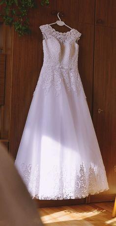Suknia ślubna + welon GRATIS