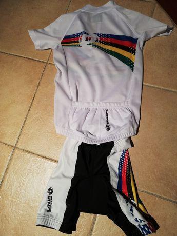 Equipamento ciclismo criança