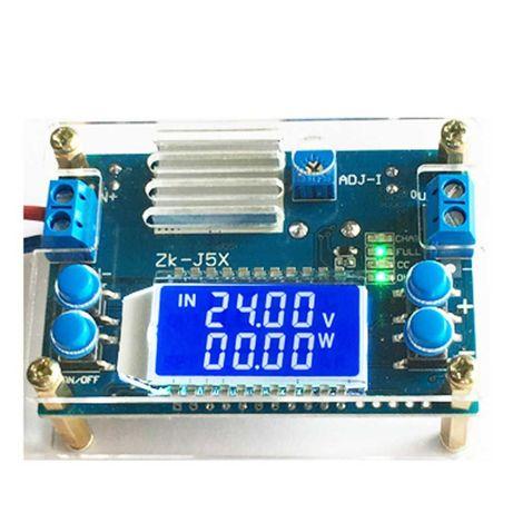 ZK-J5X DC понижающий преобразователь с жидкокристаллическим дисплеем.