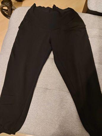 Spodnie ciążowe dresy czarne rozm. L