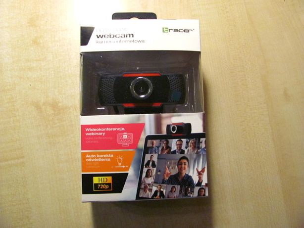 Kamera Kamerka internetowa Tracer HD WEB008 - Prezent zdalne nauczanie