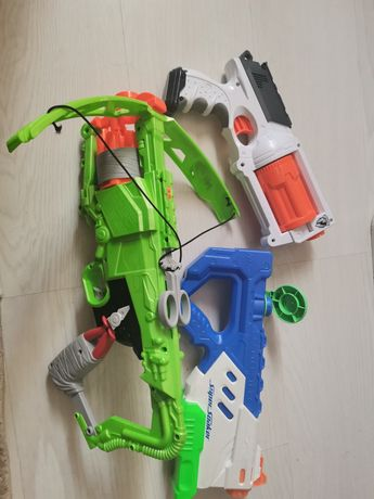 3 Lançadores Nerf