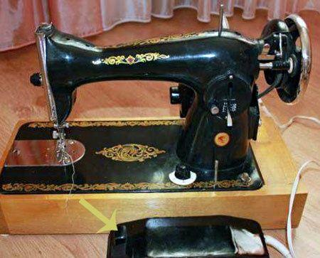 Продам швейну машину с електро приводом