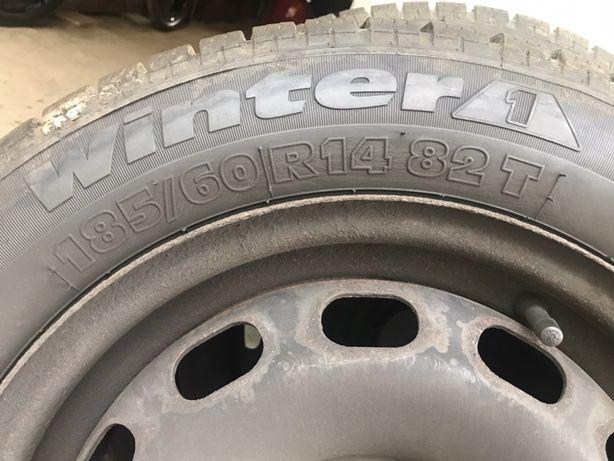 Комплект зимних колес  R14 185/60,19-года
