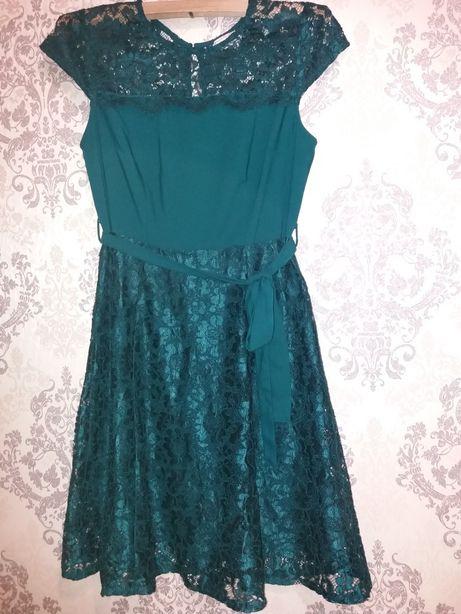 Платье кружевное ажурное