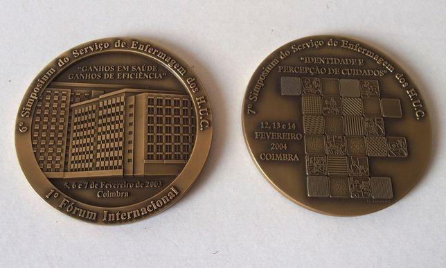 """Medalhas Comemorativas """"Simposium Enfermagem"""""""