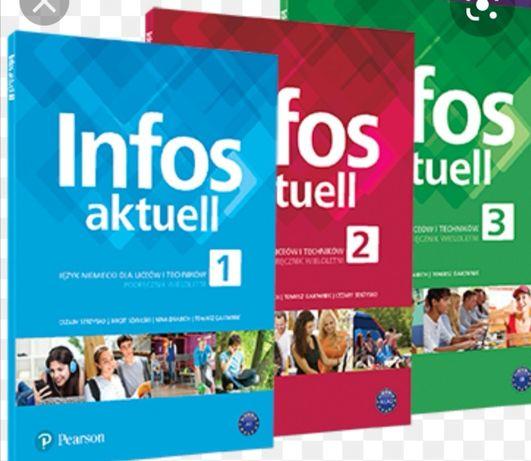 Infos aktuell 1 2 3 testy język niemiecki