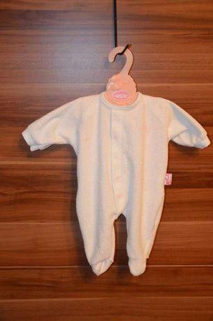 BABY ANNABELL śpioszki dla lalki + grzechotka