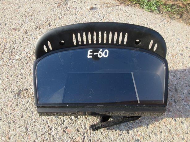BMW E60 E61 monitor wyświetlacz nawigacji