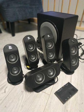 Logitech X-530 + Audiotrak Maya U5