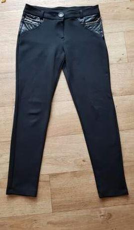 czarne legginsy rozm M