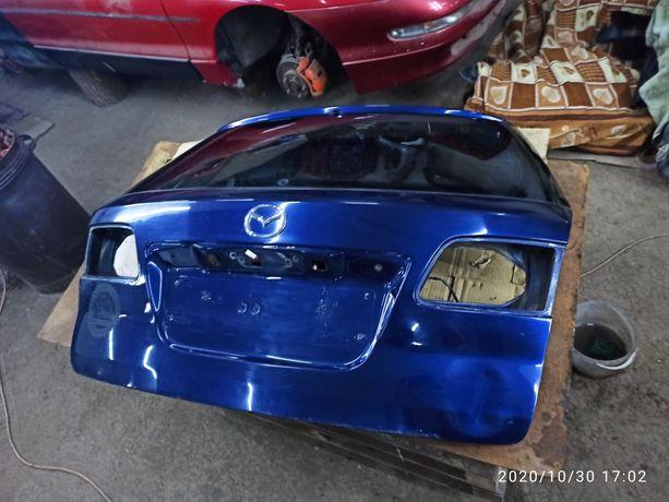 Ляда Mazda 6 GG GY (2002-2007) фиолетовая кришка багажника универсал