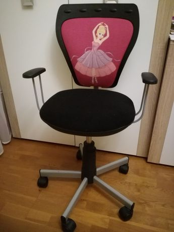 Fotel do biurka baletnica