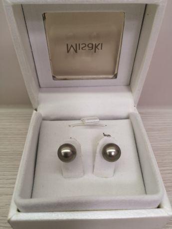 Kolczyki czarna perła firmy Misaki