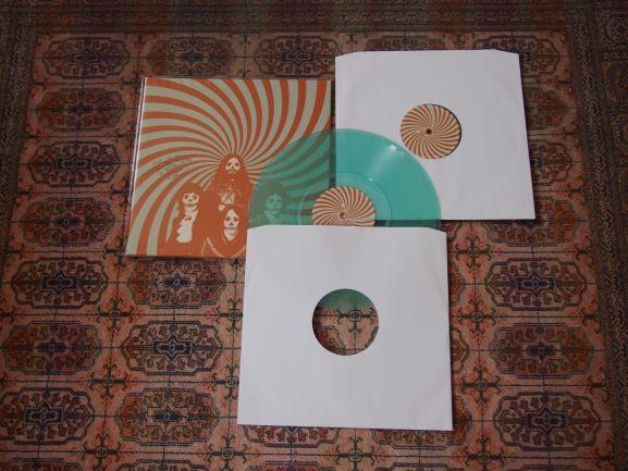 The Cosmic Dead Vinil LP duplo (rock psicadélico) autografado