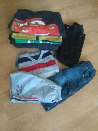 Bluzy,sweterek ,spodnie dresowe,spodenki H&M,Rebel,5.10.15