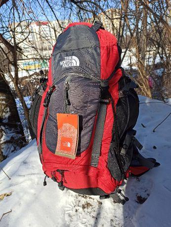 каркасный рюкзак The North Face 60 с дождевиком