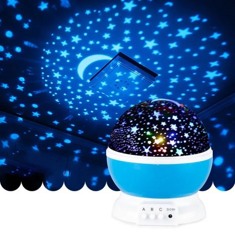 Зоряне небо нічник-проектор